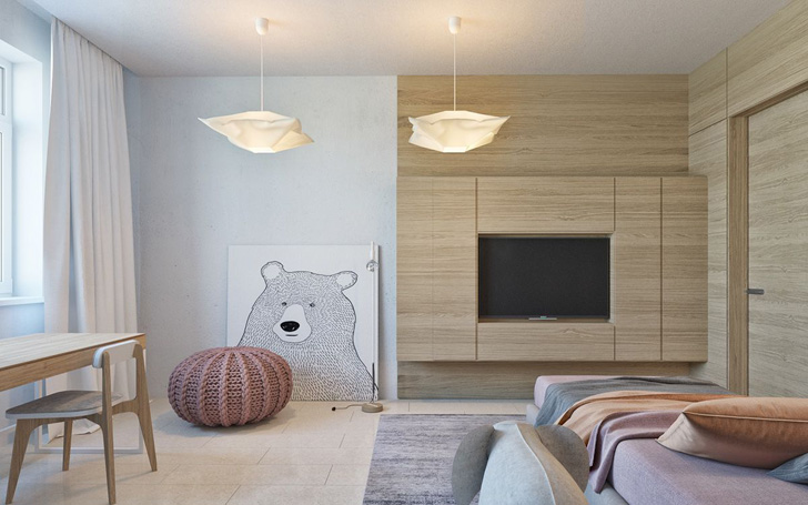 Dos habitaciones infantiles de diseño en tonos soft | DecoPeques