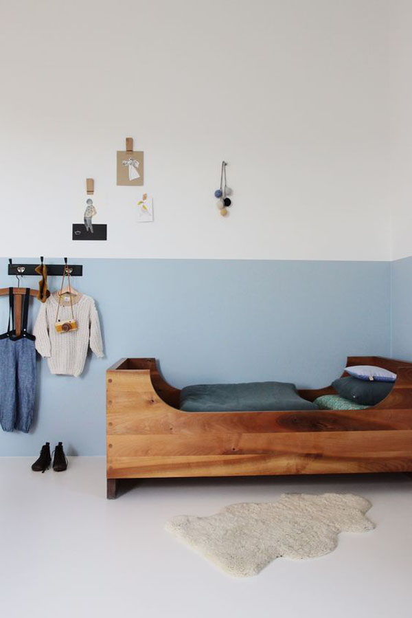habitacion-infantil-cama-de-madera