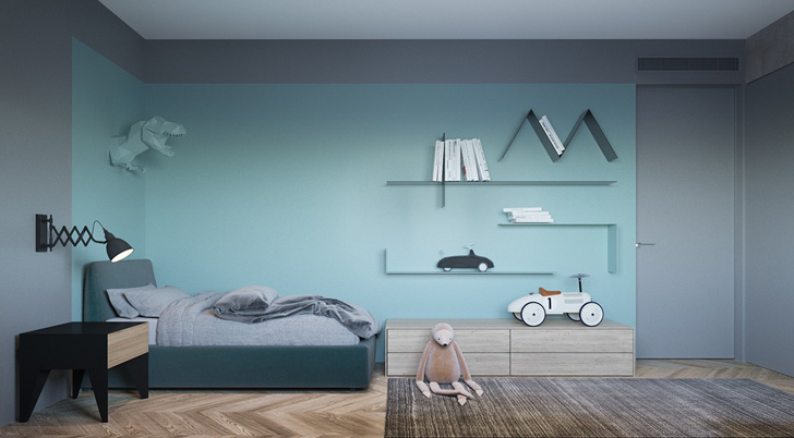 habitacion-infantil-de-diseño-cool