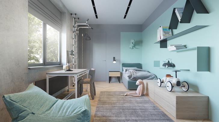 Habitación infantil de diseño para niños activos | DecoPeques