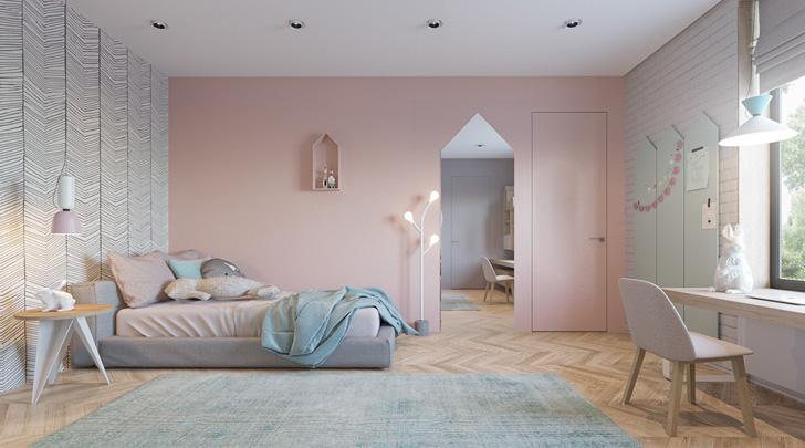 Dos habitaciones infantiles de dise o en tonos soft for Diseno de habitacion principal pequena