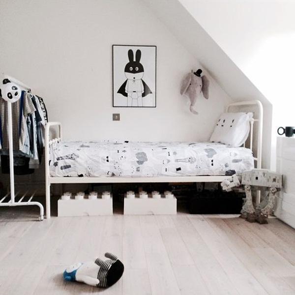 habitacion-infantil-estilo-nordico-blanco-y-negro