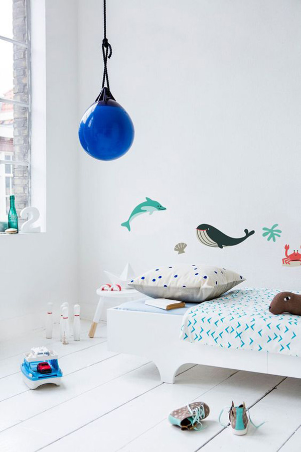 5 Habitaciones infantiles inspiradas en el mar