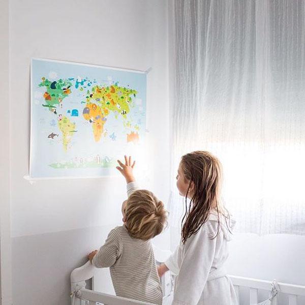 laminas-infantiles-menudos-cuadros-mapa
