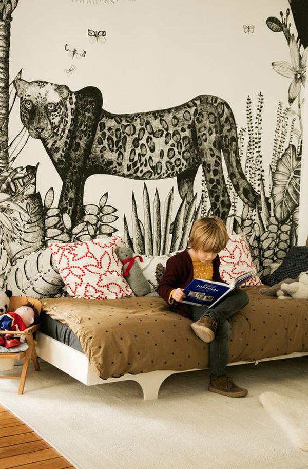 papel-pintado-selvatico-habitacion-infantil