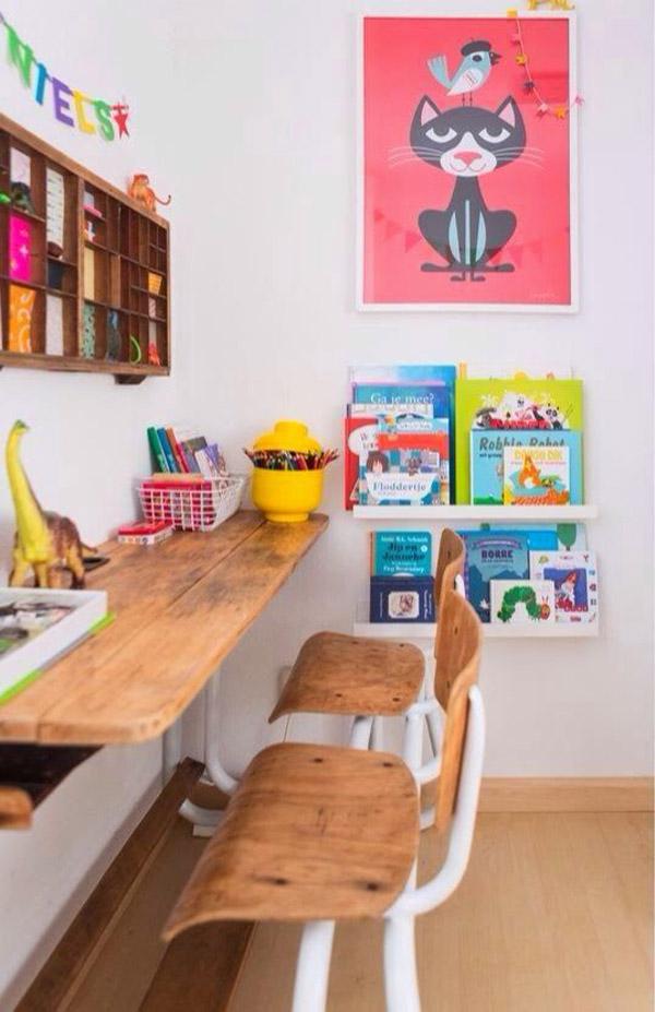 zona-de-estudio-con-libreria
