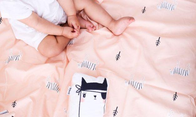 Divertidos textiles infantiles de Bandide