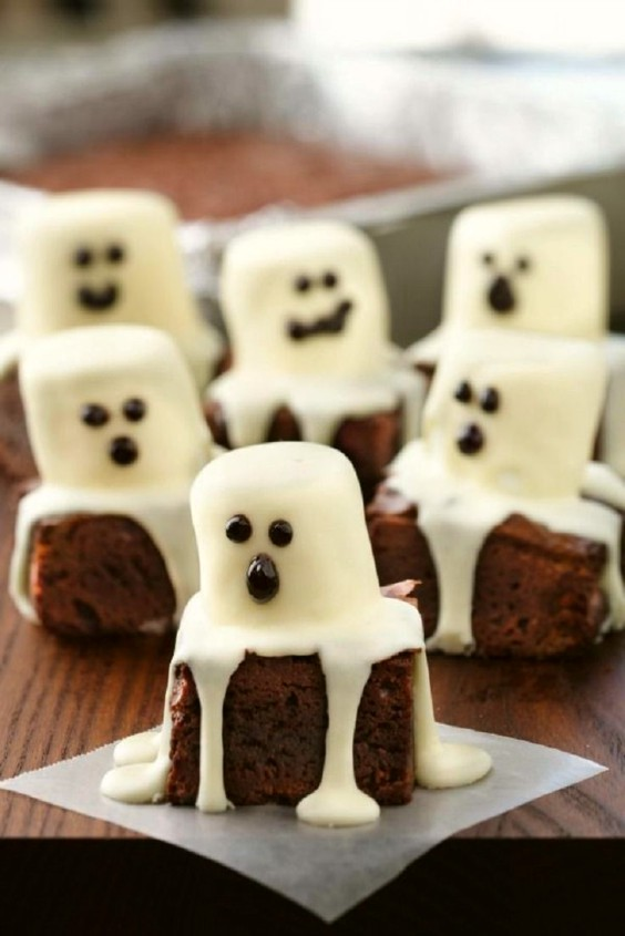 brownies-de-fantasmas-halloween