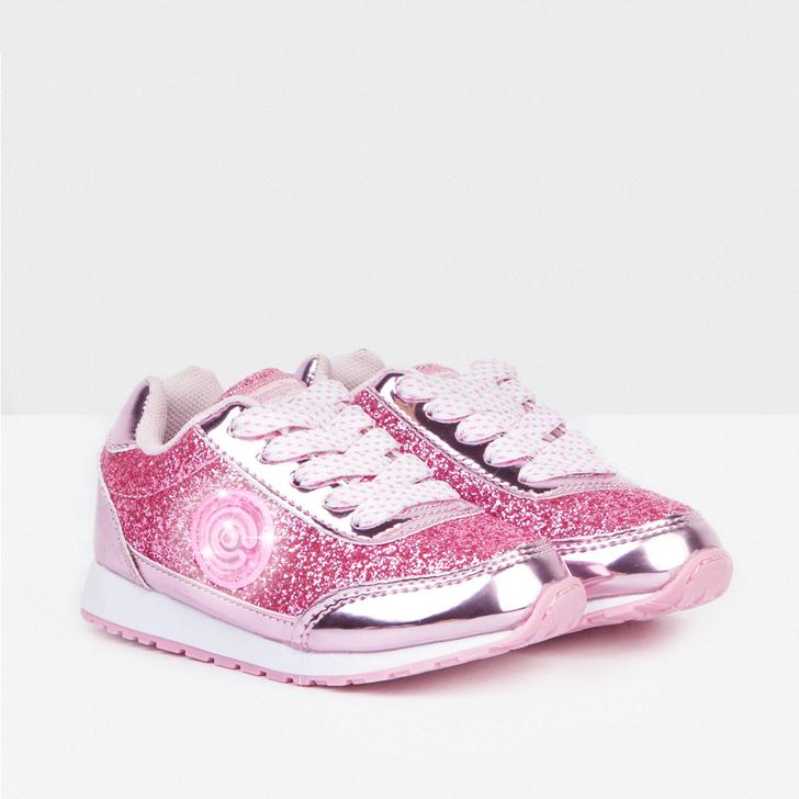 deportivos-infantiles-con-luz-conguitos-rosa-glitter-metalizado