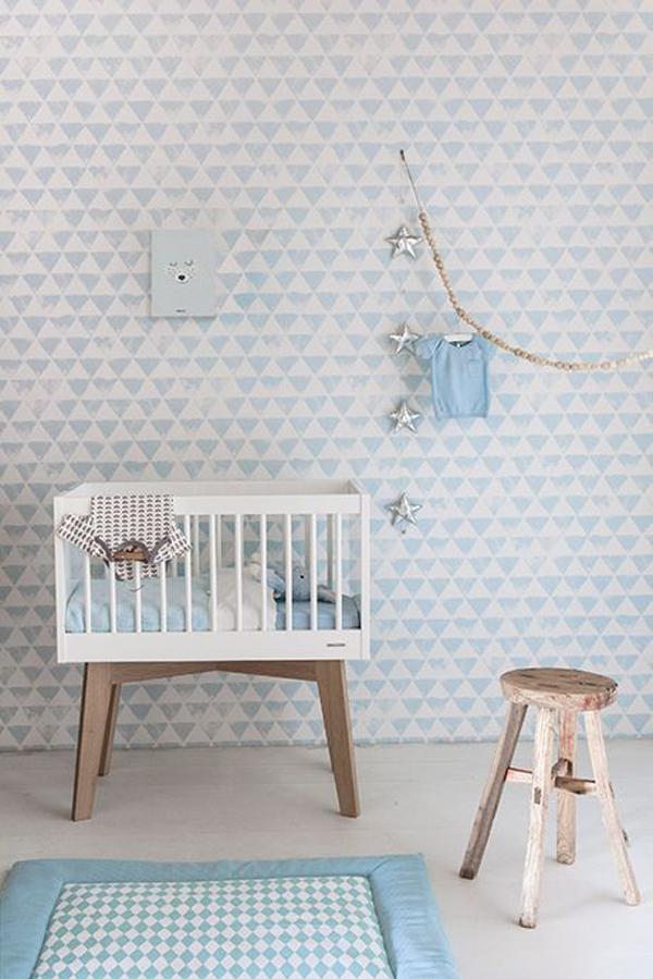 5 Habitaciones de bebé en azul ¡para niños y niñas!