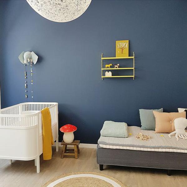 5 habitaciones de beb en azul para ni os y ni as - Color paredes habitacion bebe ...