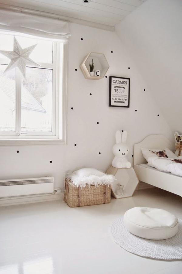 20 habitaciones infantiles en blanco y negro decopeques for Habitaciones infantiles estilo escandinavo