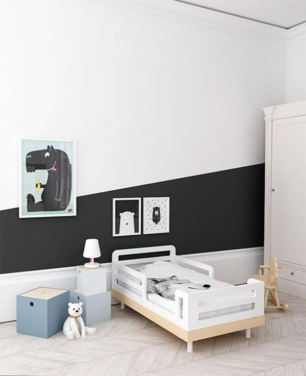 habitacion-infantil-blancoy-negro-paredes-originales
