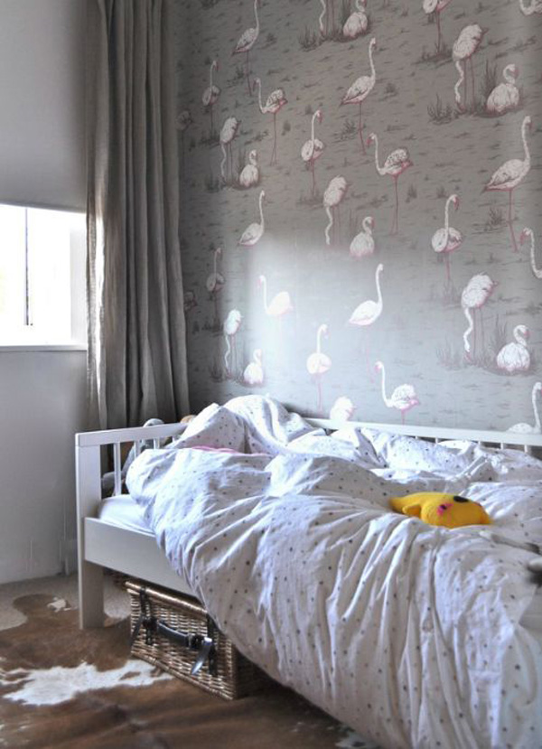 habitacion-infantil-nina-papel-pintado