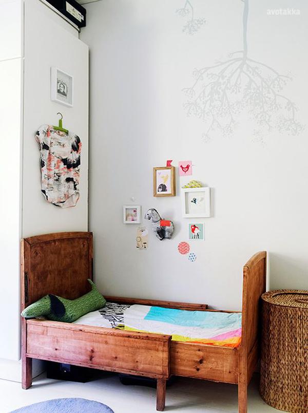 habitacion-para-ninos-estilo-vintage