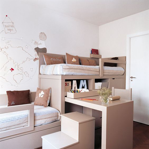 Muebles infantiles originales 22 fotos ideas e for Muebles infantiles a medida