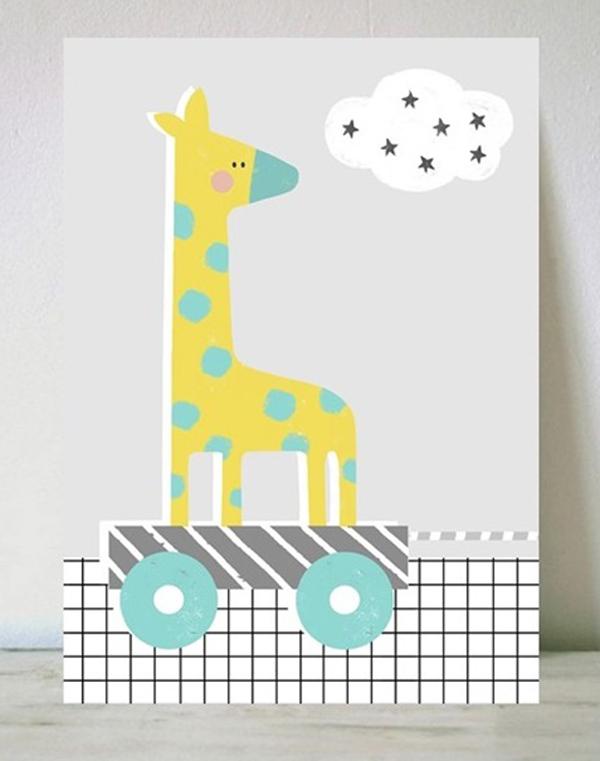 lamina-infantil-jirafa