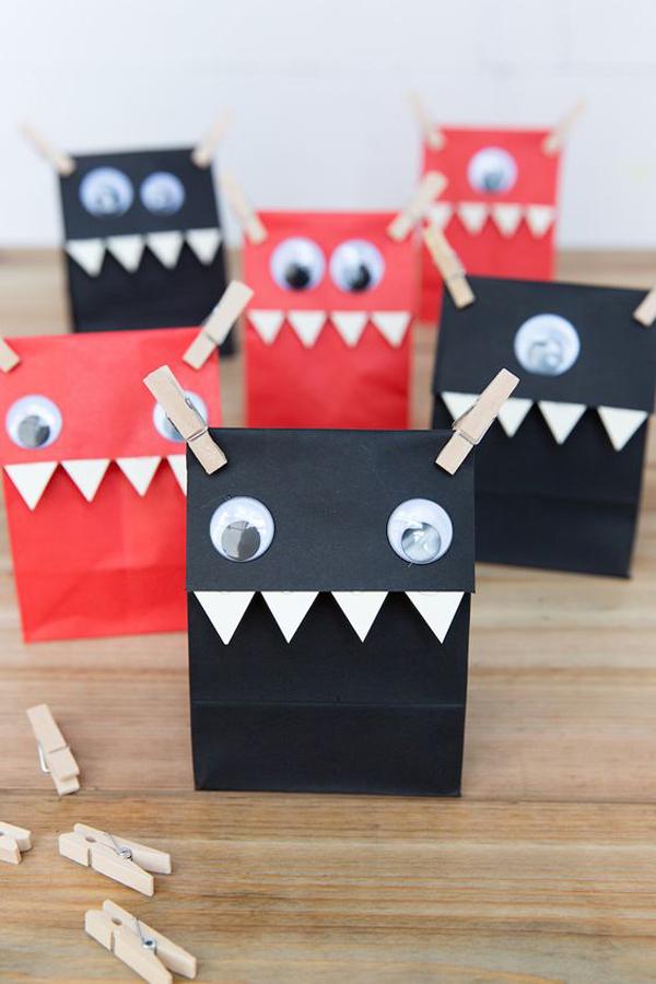 manualidades-de-halloween-bolsas-de-papel