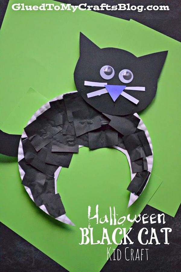 manualidades-de-halloween-gato-negro