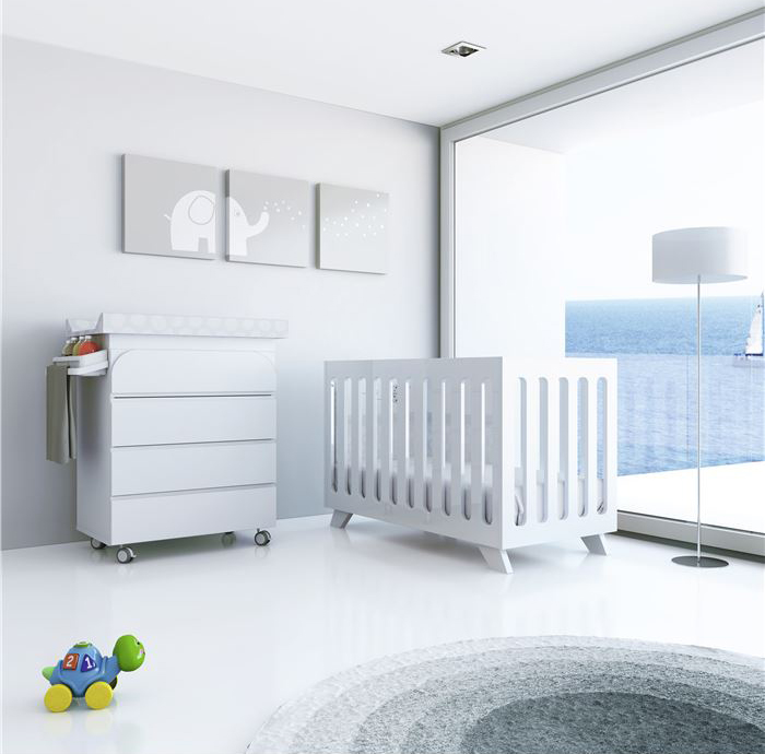 Muebles infantiles alondra en kidshome decopeques for Muebles felices