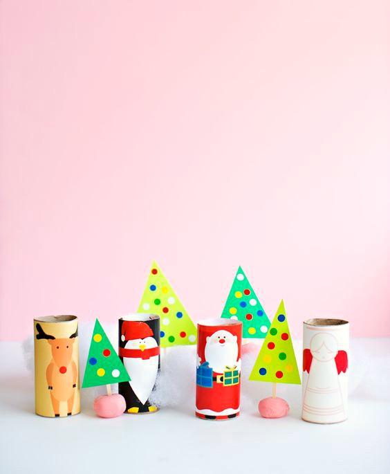 adornos-de-navidad-con-tubos-wc