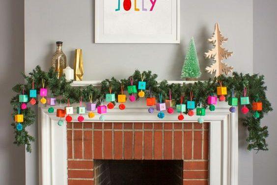 20 adornos de Navidad creativos y caseros para hacer en familia