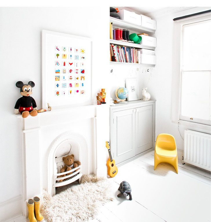 decorar-con-cuadros-infantiles-de-dibujos