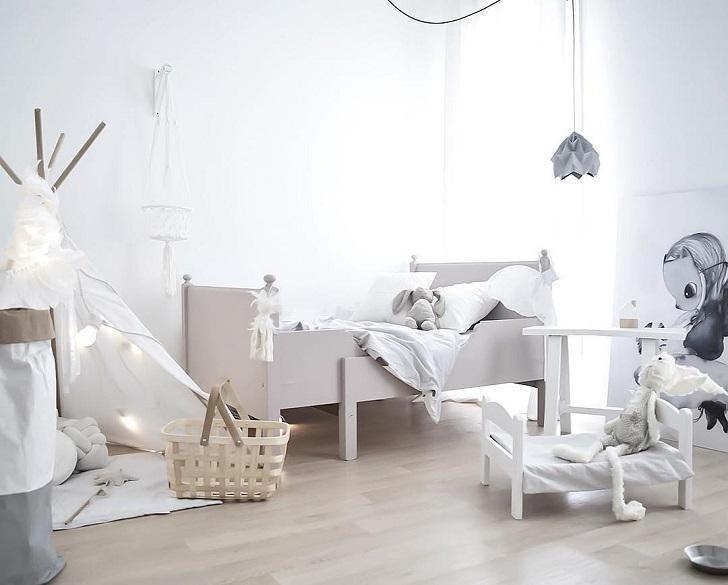 Inspiraci n instagram cuarto infantil escandinavo for Habitacion infantil nordica