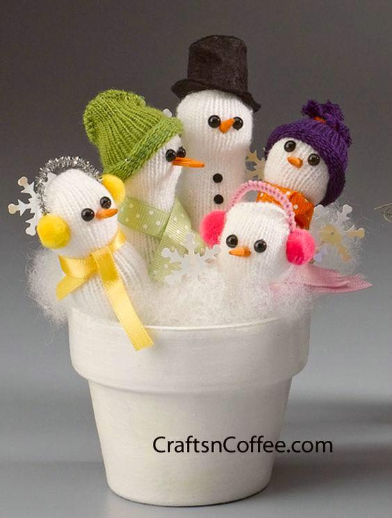 hacer-munecos-de-nieve-con-guante