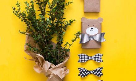 Envolver los regalos de los peques: 18 ideas originales y divertidas