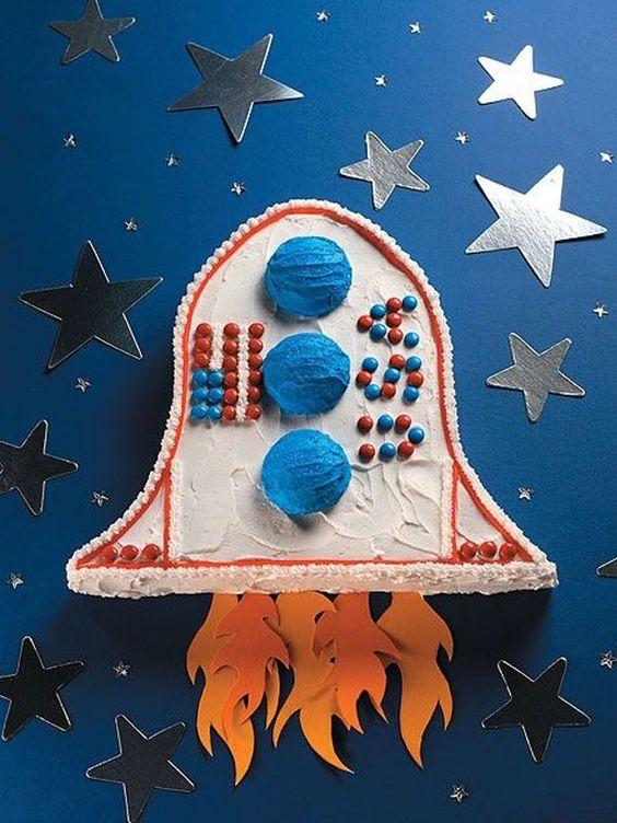 tarta-infantil-nave-espacial