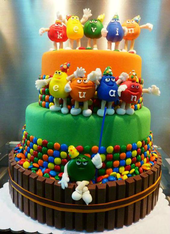 28 ideas creativas y caseras para decorar tartas infantiles DecoPeques