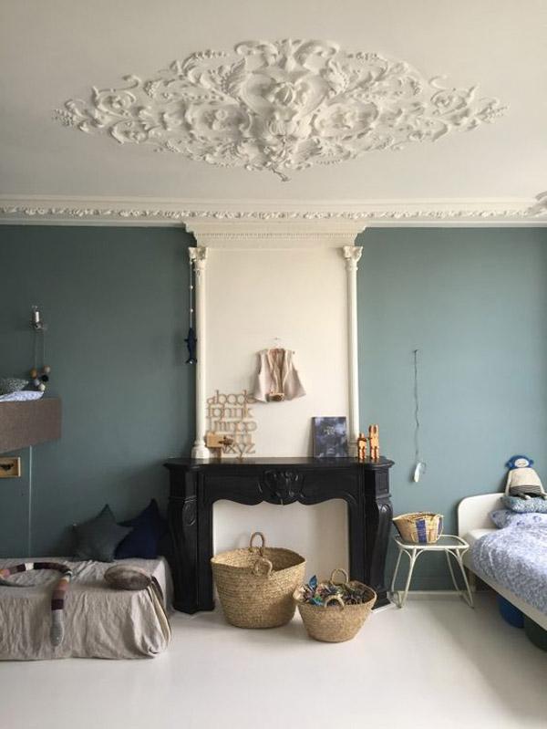 cestas-de-mimbre-habitacion-vintage