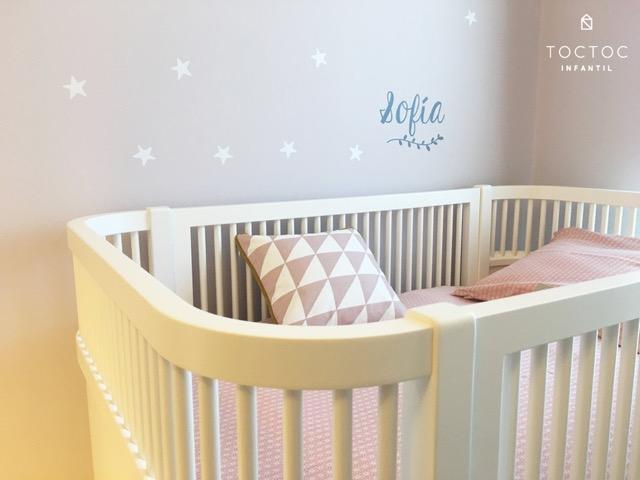 habitacion-bebe-rosa-estrellas