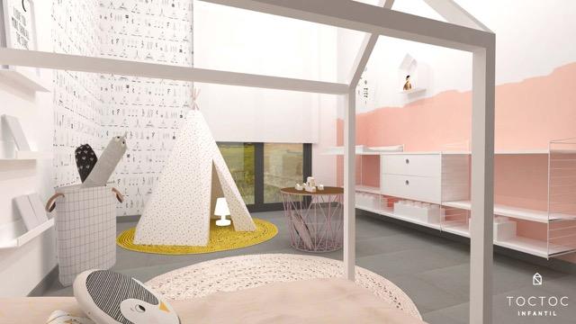 habitacion-infantil-montessori-rosa