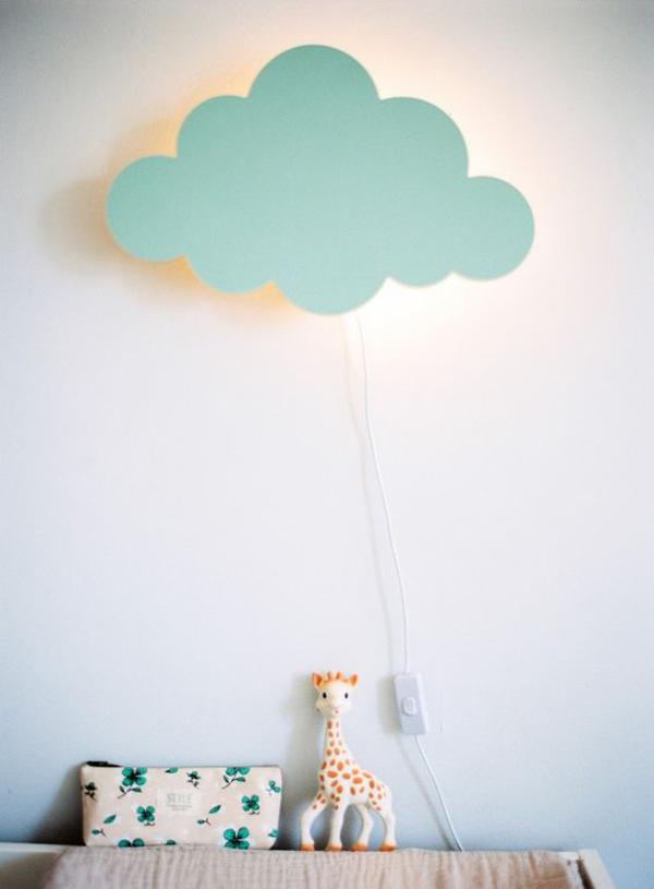 Nuevas ideas rom nticas para iluminar el cuarto del beb decopeques - Lamparas habitacion bebe ...