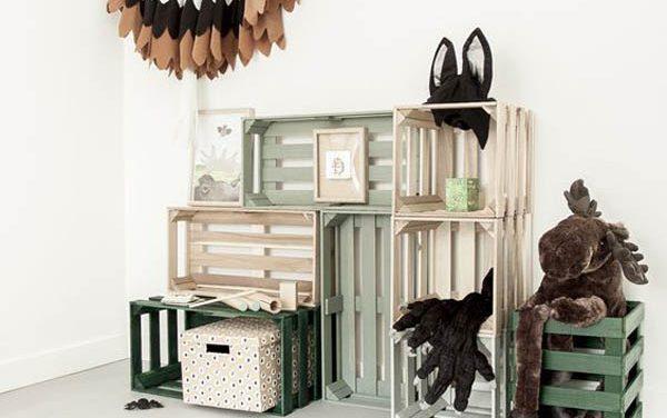 5 ideas de almacenaje low cost para el cuarto infantil