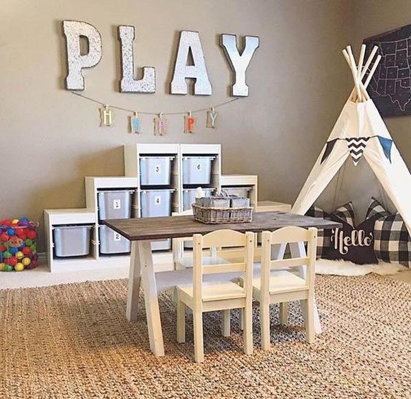 5 ideas de almacenaje low cost para el cuarto infantil for Muebles habitacion baratos