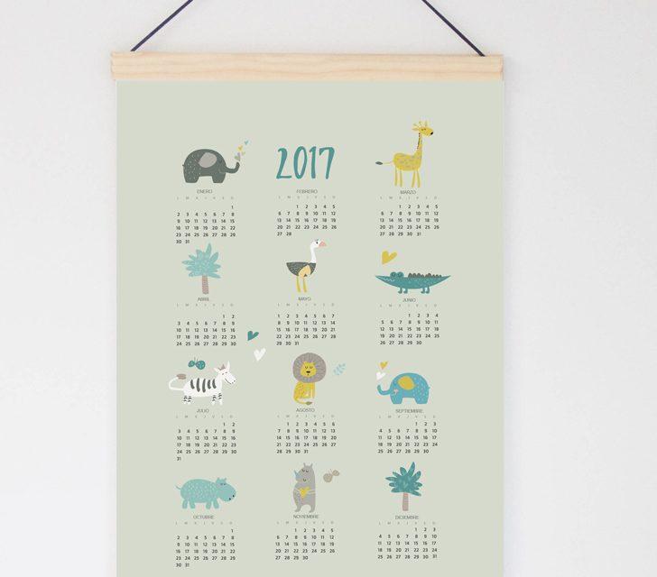 ¡Consigue Gratis tu calendario 2017 en Menudos Cuadros!