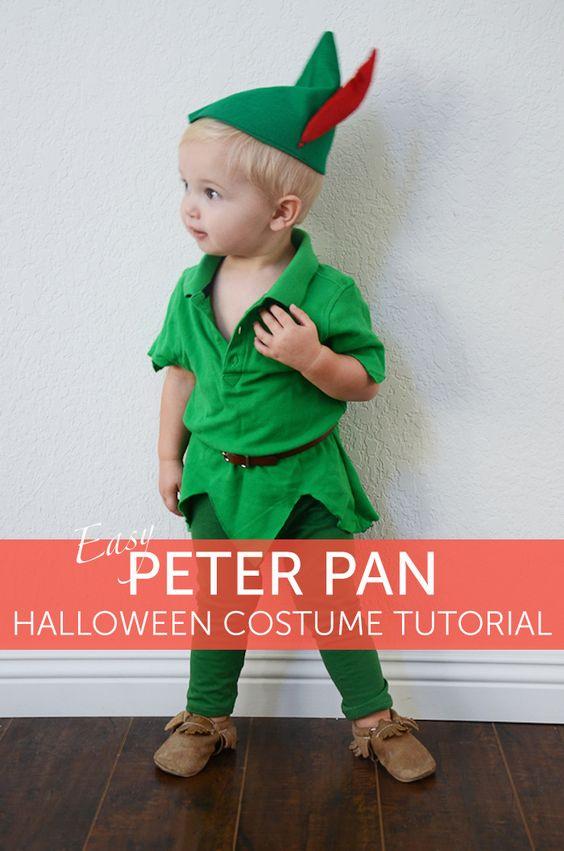 disfraz bebe peter pan