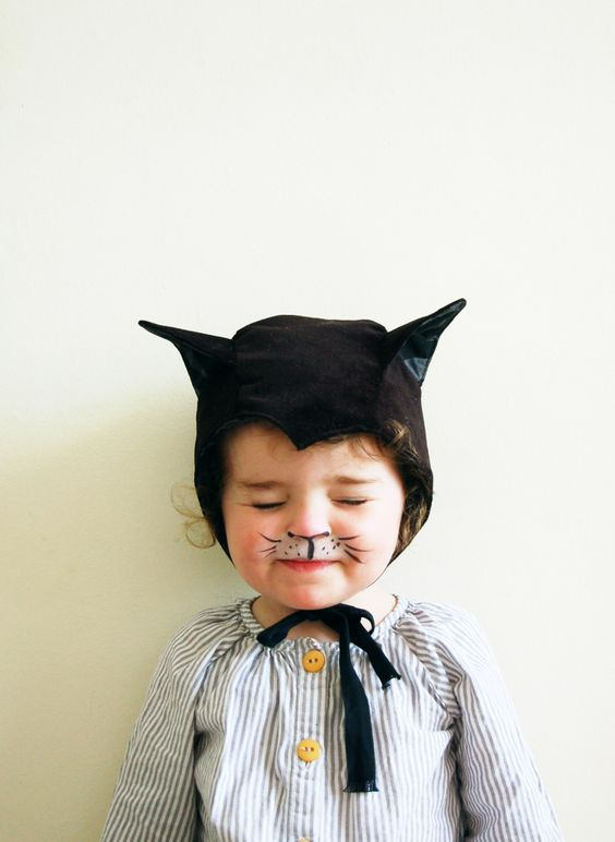 disfraz infantil gato