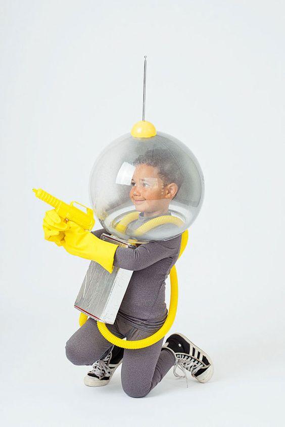 disfraz infantil pirata espacial