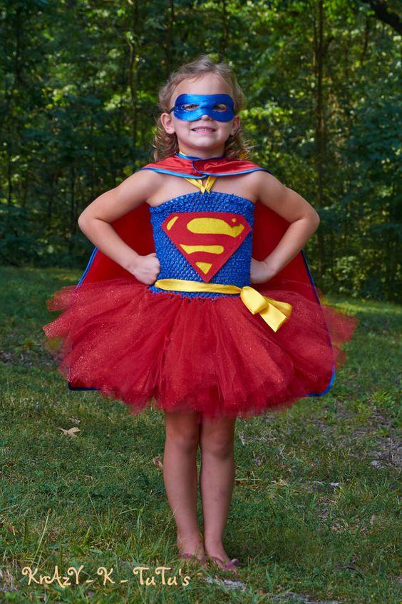 disfraz infantil superwoman