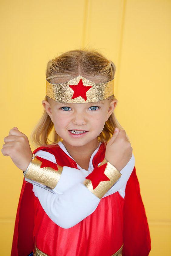 disfraz niña superheroina