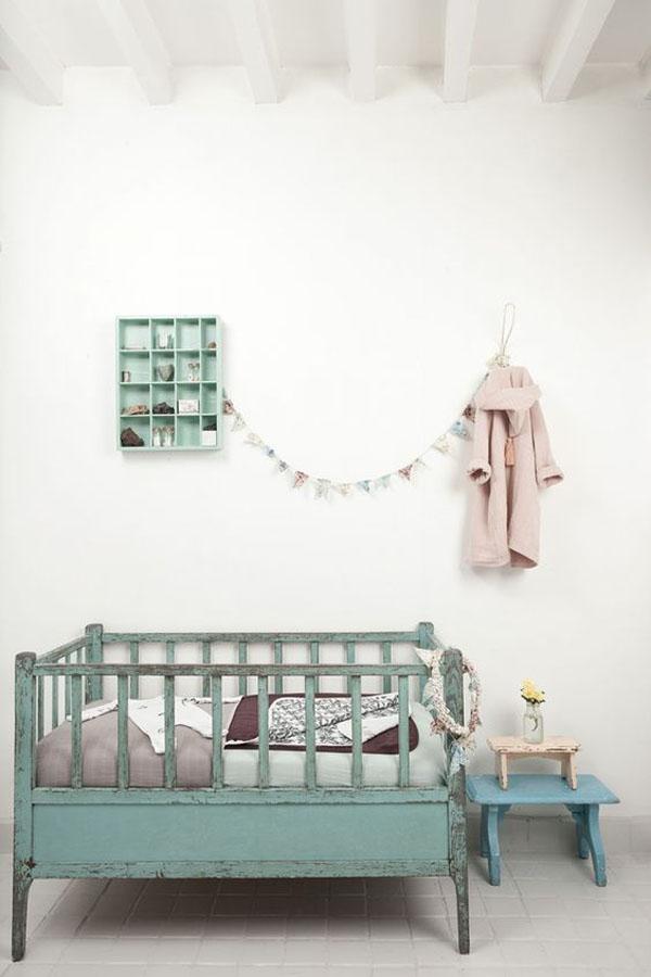 habitacion-bebe-estilo-vintage