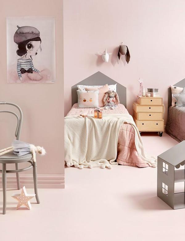 C mo decorar habitaciones infantiles en color rosa 6 for Colores para habitacion infantil