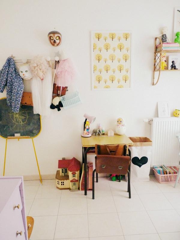 habitacion-infantil-eclectica-zona-de-estudio