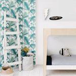 Habitaciones infantiles con inspiración tropical