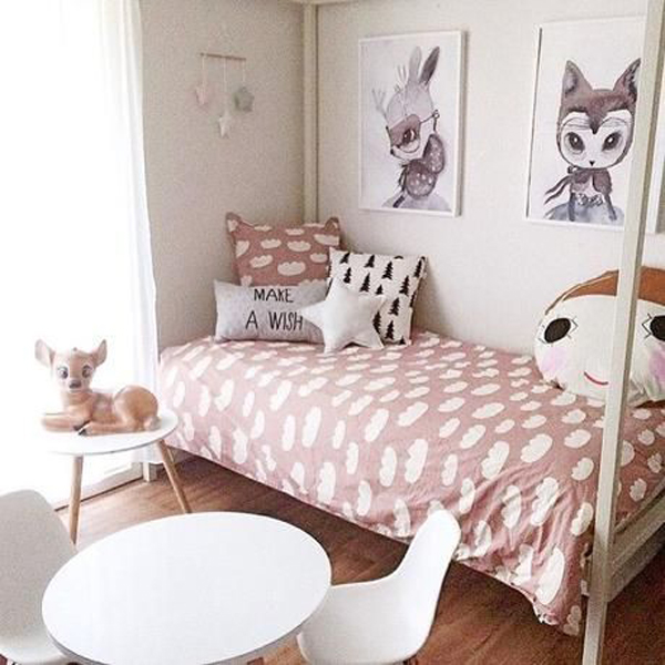 habitacion-infantil-textiles-color-rosa