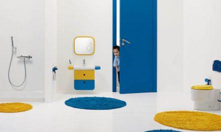Ideas para reformar el baño infantil con Materiales de fábrica
